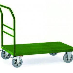 carucior cu platforma metalica