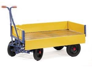 Carucior transport marfa cu obloane